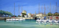 La Rochelle (acryl. 40 x 80 cm)