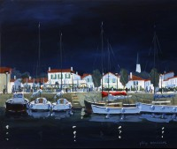 Ars la Nuit (acryl. 55 x 46 cm)