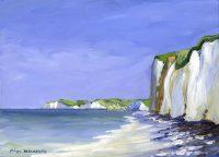 Varengeville sur mer (acryl. 33 x 24 cm)