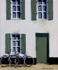 Façade (acryl. 55x46 cm)